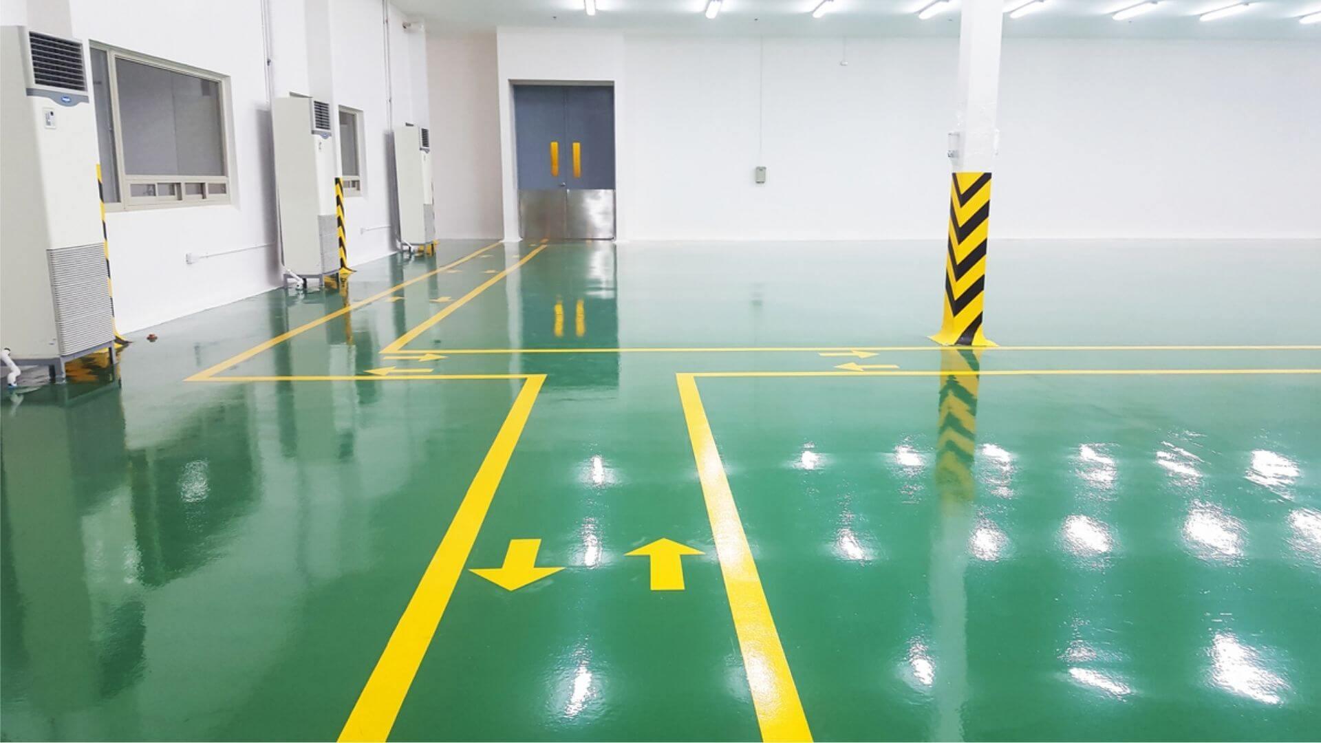 Epoxy Flooring For Warehouse