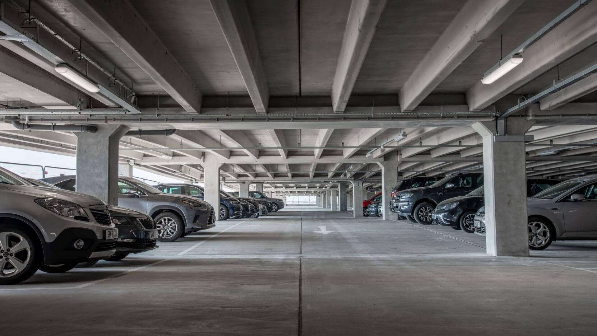 Underground Concrete Carpark